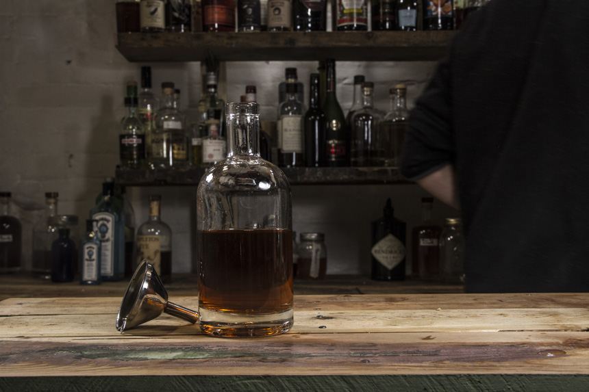 How to make Bacon flavored bourbon-10