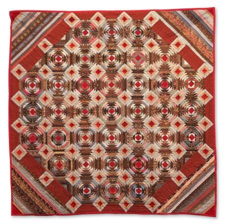 International Quilt Study Center & Museum - Pineapple variation 02
