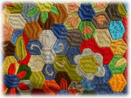 Jila - Jila's Flowersfield I - Detail 01