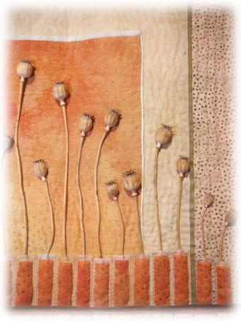 Trudy Kleinstein - Mohn-  Detail 01