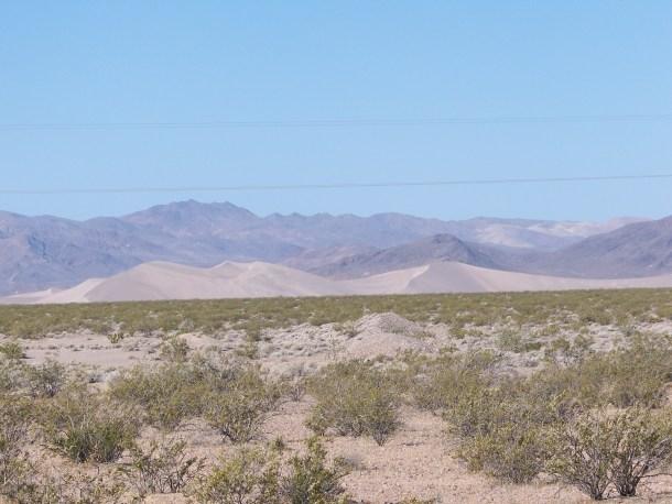 Armagosa Sand Dunes, Nevada