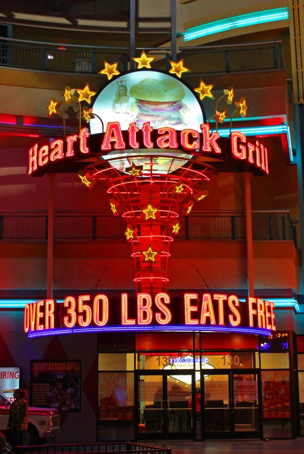Heart Attack Grill in downtown Las Vegas