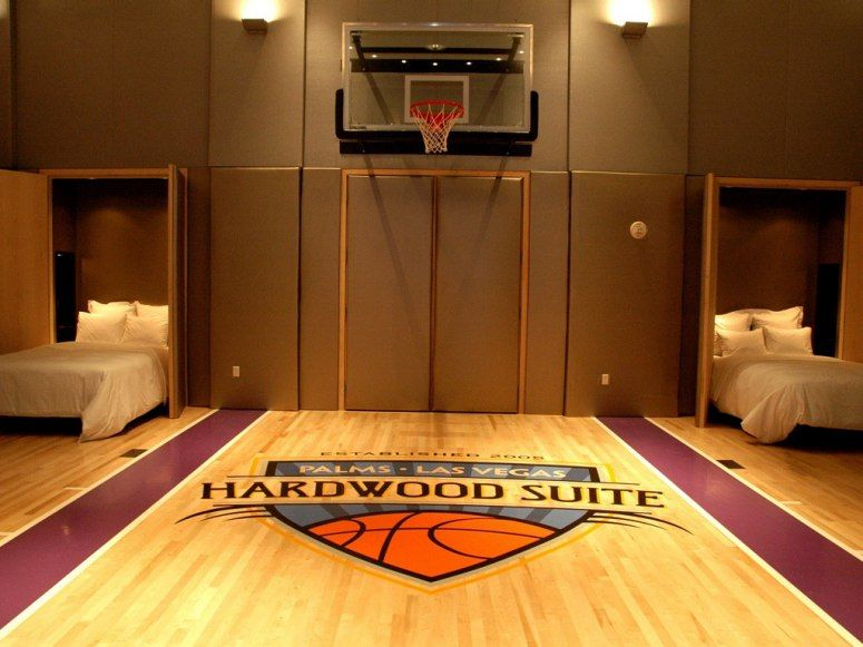 The 13 most luxurious suites of las vegas Indoor half court basketball cost