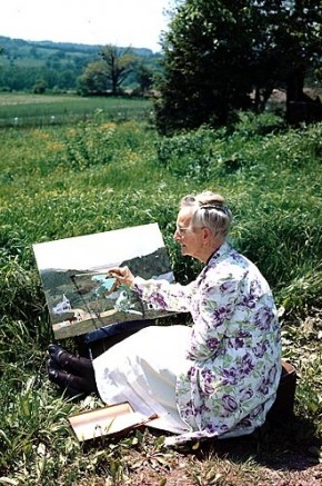 "Grandma Moses: ""Life is what we make it, always has been, always will be."""