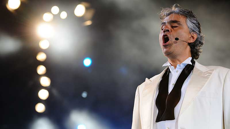 Andrea Bocelli: Horseman, Winemaker, Lawyer, Late Bloomer