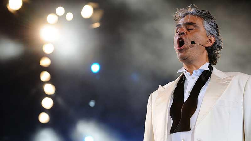 Andrea Bocelli: Horseman, Winemaker, Lawyer, Late Bloomer