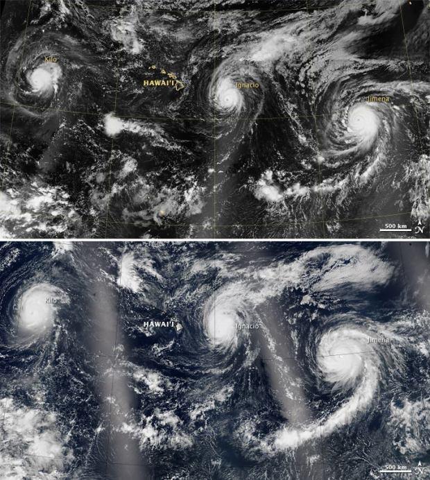 Historique 4 temp tes tropicales en cours dans l oc an for Fenetre sur pacifique