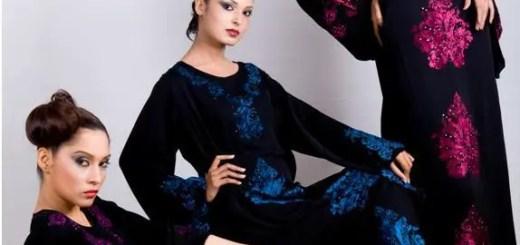 Abaya trends by Maaz - Hijab styles 2012