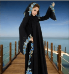 butterfly style abaya 2012 - Branded Abayas collection