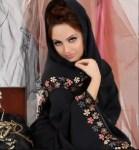 gulf abaya design 2012-2013   Scarf Trends