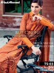 Gul Ahmed Dress designs 2013