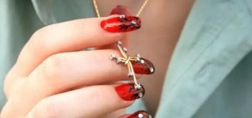 Nail polish designs bridal
