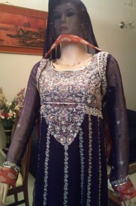 Bridal frock for walima