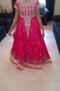 pakistani bridal gown