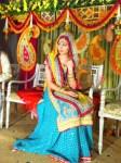 Bridal mehndi outfits