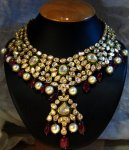 Kundan necklace pakistani bridal