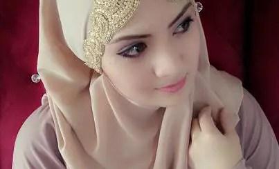 Bridal hijab fashion