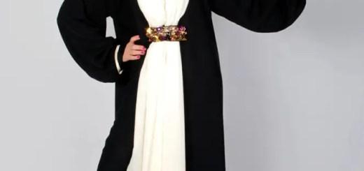 Dubai abaya designs 2013