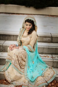 Pakistani bridal dresses in different colors
