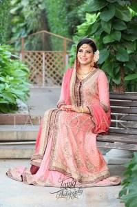 Pink pakistani bridal dresses