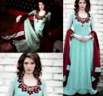 maxi style dresses Pakistani