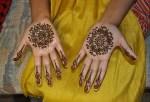 Cute kids mehndi designs for eid