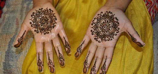 Cute kids mehndi designs for eid