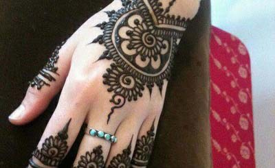 Indian eid mehndi design patterns 2013
