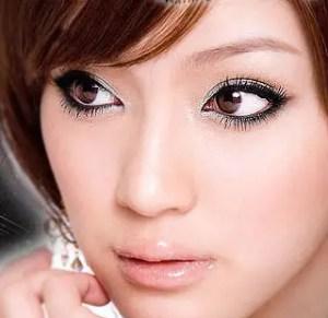 Round eyes makeup 2013