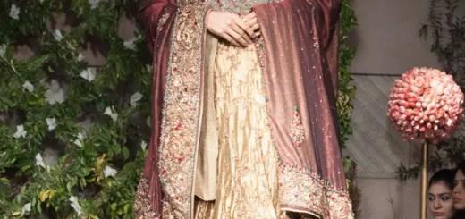 Saadia Mirza bridal dresses 2013
