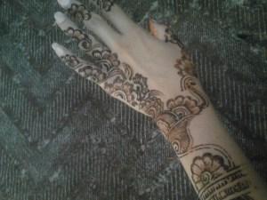 Mehndi designs for girls 2013