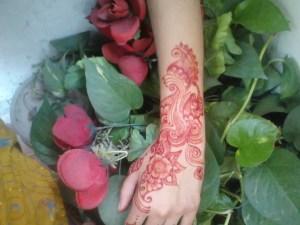Pakistani henna mehndi designs