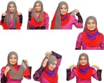 How to wear hijab properly