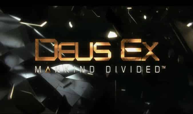 Deus Ex: Mankind Divided Release Date & Collector's Edition Revealed