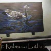 Ducks Unlimited Sponsor Print Painting - Nearly Finished