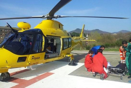 Bimba di 8 mesi cade dal seggiolone, trasportata in elicottero al Bambino Gesù