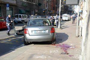 Genova - incidente mortale a Rivarolo - ubriaco alla guida, uccide un pedone sul marciapiede