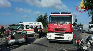 incidente-latina-vigili-fuoco-ambulanza