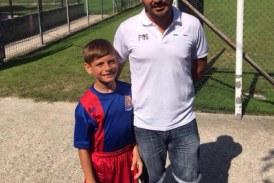 Francesco Centra, 10 anni. Una promessa del calcio, da Latina in Europa