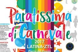 Carnevale, a Latina niente carri ma la festa ci sarà: ecco il programma