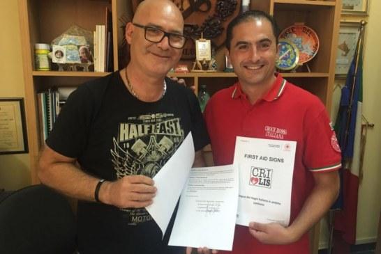 Croce rossa e lingua dei sordi, un accordo per favorire la comunicazione