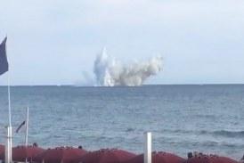 VIDEO Dramma a Terracina, cade un'aereo durante l'Air Show delle Frecce Tricolori