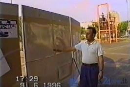 In un video del 1996 il sogno mai realizzato della Biblioteca Stirling a Latina