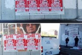 FOTO Il consigliere Antoci (Lbc): Basta manifesti illegali che imbrattano la città