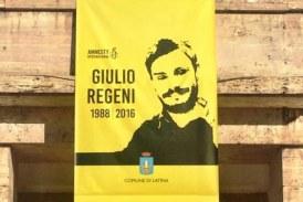 Verità per Giulio Regeni, il Comune di Latina espone uno striscione di Amnesty International