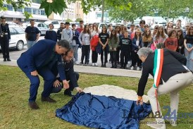 VIDEO Latina dedica una piazza a Peppino Impastato