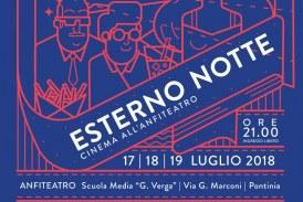 Festival Cinema&Musica a Pontinia, il programma di Esterno Notte