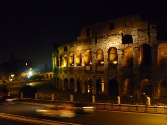 X-rated travel bucket list item: Colosseum at night