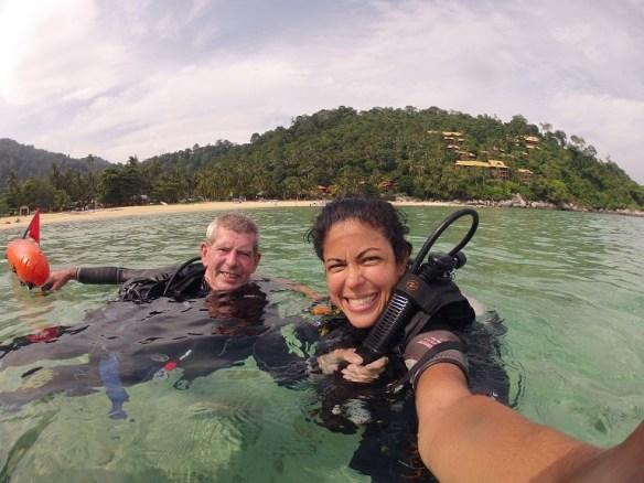 Rescue Diver course in Tioman, scuba guru