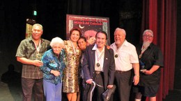 2016 Chicano Hall of Fame inductees: Daniel Valdez, songstress and bandleader Maxine Medina Delgado, who for years was a pioneer bandleader with Maxine and Company. The remaining legacy inductees, whose work stretches back into the 1940s, includes veterans Phil Trujillo (Phil Trujillo y Los Matadors). Mitch Garcia (Mitch Garcia y los Unicos) and the Five Diamonds.